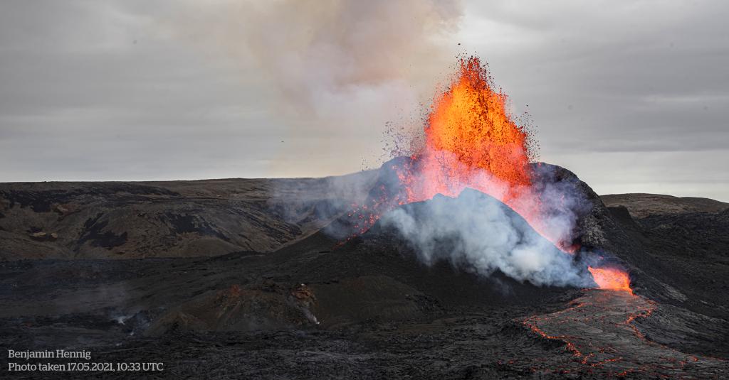 Geldingadalur Volcanic Eruption (17. May 2021)